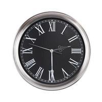 l'horloge montre la moitié du tiers photo