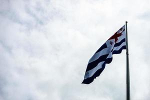 drapeau de la république d'adjarie photo