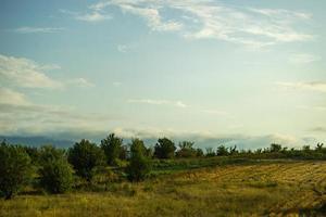paysage géorgien central photo
