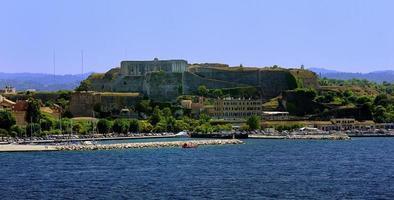 ancienne forteresse de corfou photo