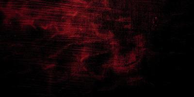 fond d'horreur rouge et noir. béton de texture rouge grunge foncé photo