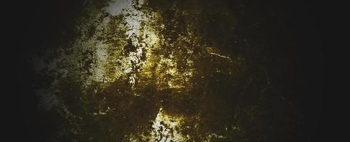 mur de béton jaune foncé minable. mur brun foncé béton ou ciment photo