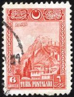 Turquie, 2021 - timbre-poste de Turquie vintage photo