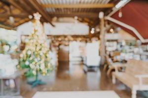 café-restaurant flou abstrait et café-restaurant photo