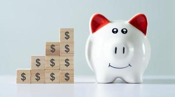 concept d'économie d'argent, gestion financière photo