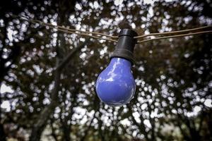 ampoule colorée photo