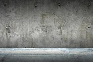 fond de sol et de mur en ciment, intérieur, chambre, produits d'affichage design. photo