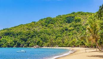 grande île tropicale ilha grande praia de palmas beach brésil. photo