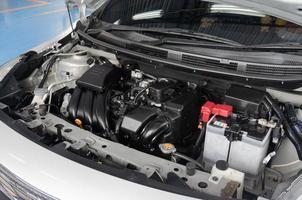détail de moteur de voiture photo