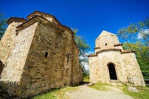 Monastère de Dzveli Shuamta en Géorgie photo