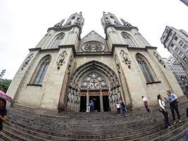 sao paulo, brésil, jan 01, 2015 - église se au centre-ville de sao paulo photo
