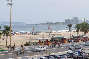 rio de janeiro, brésil, 2015 - plage de leme à copacabana photo