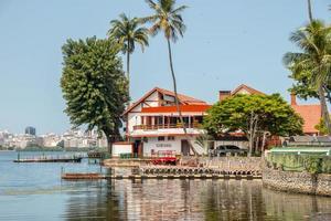 rio de janeiro, brésil, 2015 - vue sur la lagune rodrigo de freitas photo