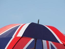 drapeau du royaume-uni uk alias union jack parapluie photo