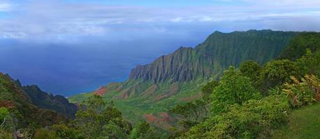 montagnes de kauai hawaii photo