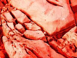 texture de pierre rouge photo