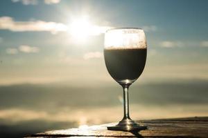 herbe à vin le matin photo