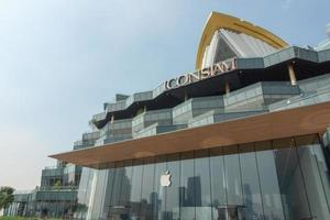 bangkok, thaïlande- icône de magasin d'apple siam, bangkok, thaïlande photo
