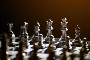 jeu d'échecs pour la compétition et la stratégie photo