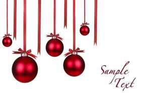 décorations de Noël de vacances suspendues avec des arcs photo