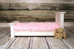 arrière-plan numérique pour insérer des nourrissons, des animaux domestiques ou des enfants endormis photo