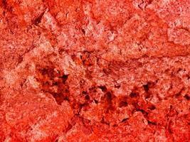 texture de pierre rouge à l'extérieur photo