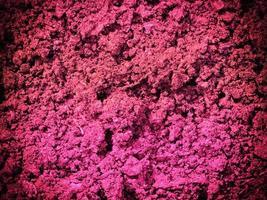 texture de terre rose photo