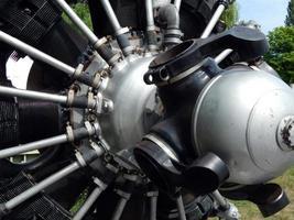 hélices de moteurs d'aviation photo