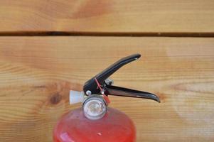 extincteur portatif pour protéger la maison et l'intérieur du feu photo