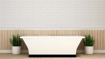 salle de bain en appartement ou hôtel photo
