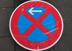 pas de parking et pas de panneau d'arrêt photo