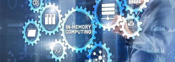 dans le calcul de la mémoire des systèmes distribués haute performance photo