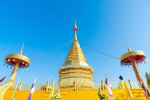 wat phra that doi kham - temple de la montagne d'or photo