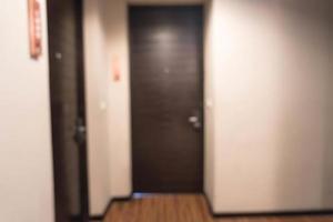 abstrait beau luxe flou intérieur de l'hôtel photo