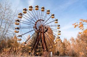 Pripyat, ukraine, 2021 - grande roue à Tchernobyl photo