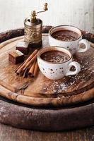 chocolat chaud photo