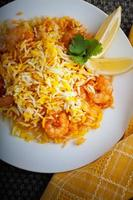 biryani indien aux crevettes
