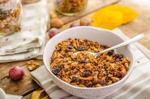 granola au four photo