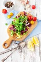 ingrédients pour salade