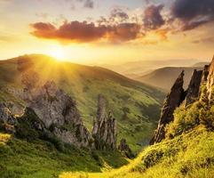 vallée de montagne