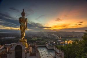 wat phra that kao noi nan, thaïlande. photo