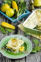 Lasagne aux légumes photo
