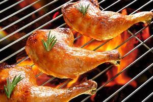 poulet grillé photo