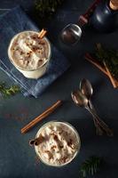 Milk-shake de crème glacée au lait de poule