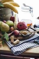 fromage et fruits photo