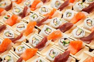sushi de fruits de mer japonais