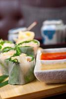 choix d'assortiment de choix de sushi frais