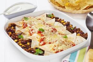 Enchiladas au bœuf