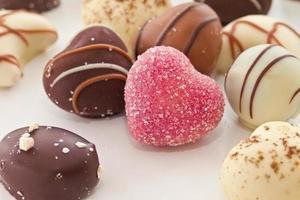 sélection de bonbons au chocolat photo