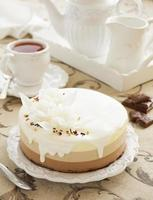 "gâteau au chocolat ""trois chocolat""."